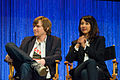 Jed Whedon and Maurissa Tancharoen at PaleyFest 2014.jpg