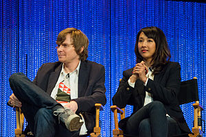 Agents of S.H.I.E.L.D. - Image: Jed Whedon and Maurissa Tancharoen at Paley Fest 2014
