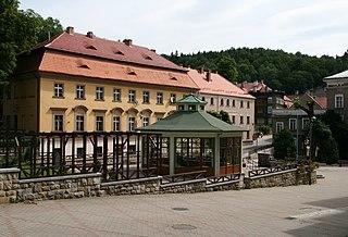 Jedlina-Zdrój Place in Lower Silesian Voivodeship, Poland