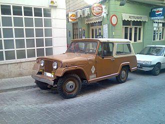 Ebro trucks - Image: Jeep Ebro Comando