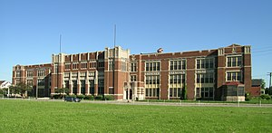 Jefferson Intermediate School - Image: Jefferson School Detroit