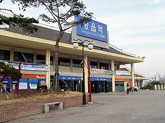 Jeongeup - Image: Jeongeup Station 2009 02 04