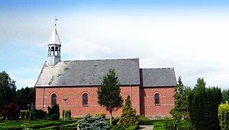 Jerup - The church in Jerup, 2009