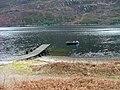 Jetty on Loch Leven - geograph.org.uk - 1704206.jpg