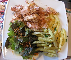 Potjevleesch - Potjevleesch with french fries