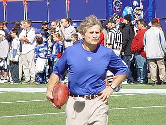 Jim McNally - McNally with New York Giants in 2003