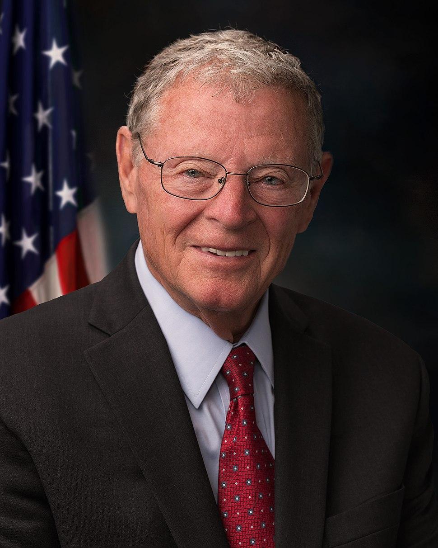 Jim Inhofe official portrait