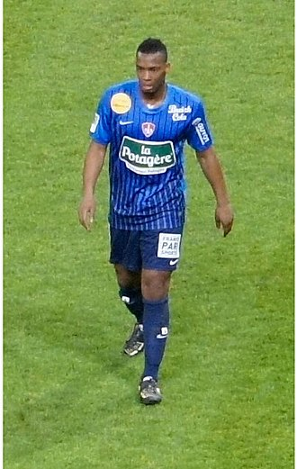 Johan Martial - Martial with Brest in 2012