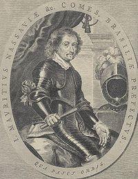 O Conde Maur�cio de Nassau.