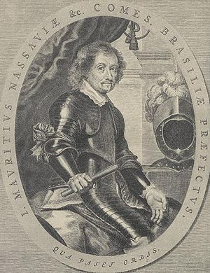 Second Battle of Salvador da Bahia - John Maurice, Prince of Nassau-Siegen, the defeated Dutch commander
