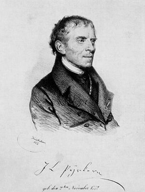 Ladislaus Pyrker - Johann Ladislaus Pyrker, Lithograph by Josef Kriehuber 1842