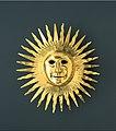 Johann Melchior Dinglinger - Sun mask with facial features of August II (the Strong) as Apollo, the Sun God - Google Art Project.jpg