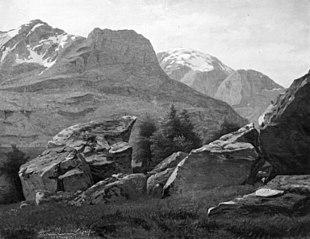 Bjerglandskab