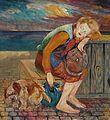 Johannesen - Landstreicher mit Hund.jpg
