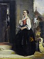 John Callcott Horsley The waiting maid 1875.jpg