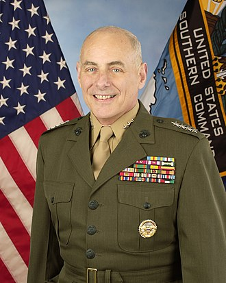 John F. Kelly - Kelly's official U.S. Southern Command portrait