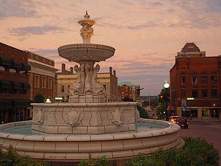 Brockville City in Ontario, Canada