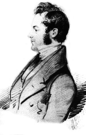 John Pratt (Archdeacon of Calcutta) - Sketch of John Henry Pratt in 1839