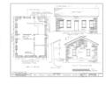 John Honam House, 1396 St. Charles Avenue (moved to Lakewood Park), Lakewood, Cuyahoga County, OH HABS OHIO,18-LAKWO,1- (sheet 1 of 2).png