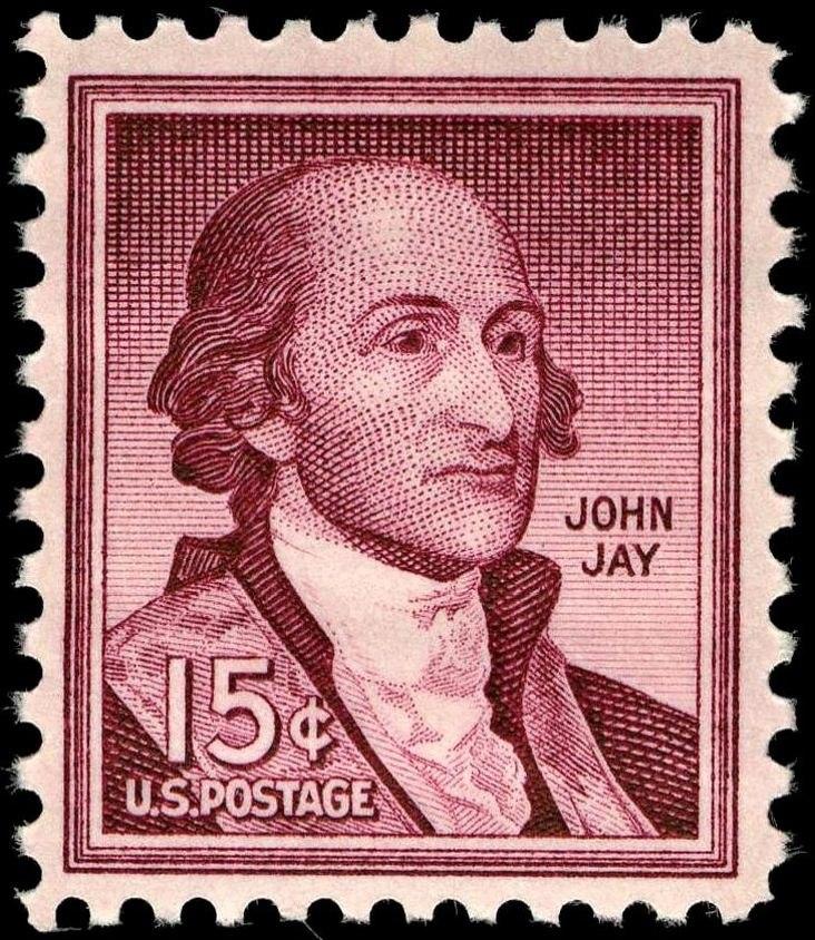 John Jay 15c 1958 issue