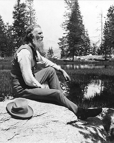 John Muir, Scottish-born American naturalist and author