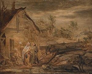 Mary and Joseph Outside the Inn