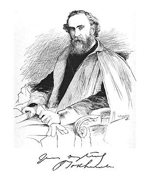 John Todhunter - Sketch of John Todhunter in The Magazine of Poetry 1889