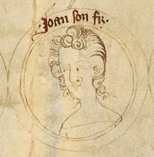 John of Eltham, Earl of Cornwall - John on the family tree of English kings