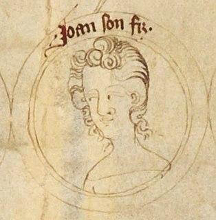 John of Eltham, Earl of Cornwall 14th-century English prince and nobleman