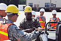 Joint-service seaport ops integrate different branches, methods of transportation 130804-A-TD020-191.jpg
