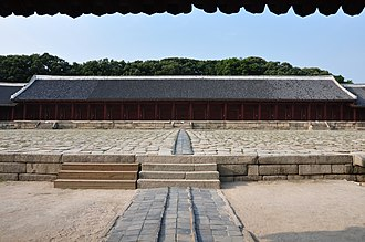 Jongmyo - Image: Jongmyo