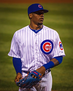 Jorge Soler - Soler with the Chicago Cubs in 2014