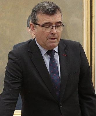 Ministry of the Presidency (Spain) - Image: José Antonio Montilla Martos 2018