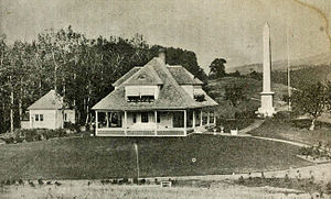 Joseph Smith Birthplace Memorial - Image: Joseph Smith Birthplace 1907
