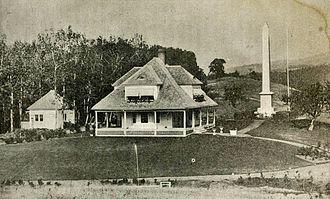 Joseph Smith Birthplace Memorial - Image: Joseph Smith Birthplace 1907