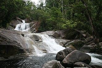 Wooroonooran, Queensland - Josephine Falls in Wooroonooran, 2007