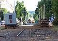 Jugoslávských partyzánů, rekonstrukce trati (01).jpg