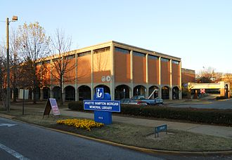 Juliette Hampton Morgan - The Juliette Hampton Memorial Library in Montgomery, Alabama.