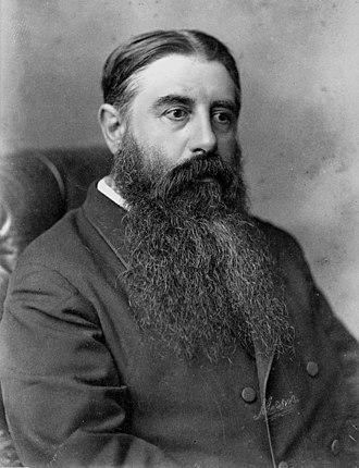 1875–76 New Zealand general election - Image: Julius Vogel, ca 1870s