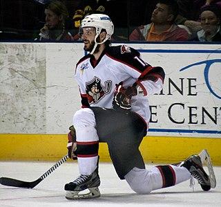 Justin Hodgman Canadian ice hockey player