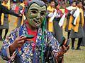 Königsgeburtstag in Bhutan der Clown.jpg
