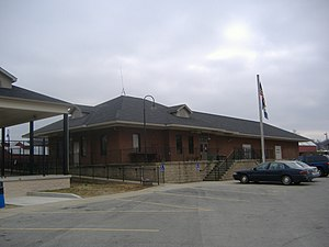 Kentucky Railway Museum - Replica of original New Haven depot