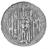 Kaźko IV Słupski seal 1373.PNG