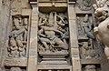 Kailasanatha Temple, dedicated to Shiva, Pallavve period, early 7th century, Kanchipuram (40) (36787645543).jpg
