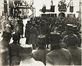 Kaiser Karl I., Besuch in Vezzano, Inspizierung der Truppe. (BildID 15415758).jpg