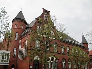 Uelzen - Old post office building