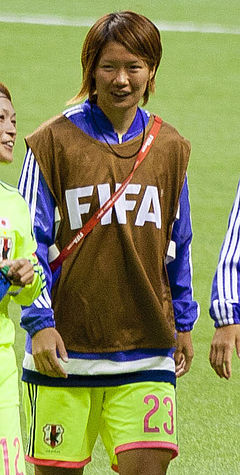 Kana Kitahara FIFA Women's World Cup CMR vs JPN June 12th, 2015.jpg