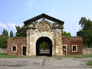 Belgrade Fortress - Gate of Charles VI.