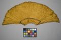 Kappa till gul maskeraddräkt Gusatf Adolf - Livrustkammaren - 86702.tif