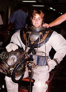 Karen Kohanowich American aquanaut and ex US Navy diver